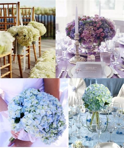 hydrangea wedding decoration weddings on the riviera provence