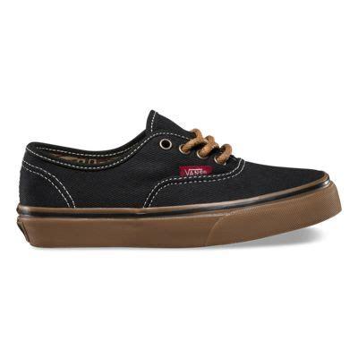 Jual Vans Authentic Black Gum t g authentic shop boys shoes at vans