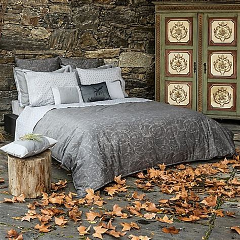 belle epoque home concept rainfall duvet cover in grey