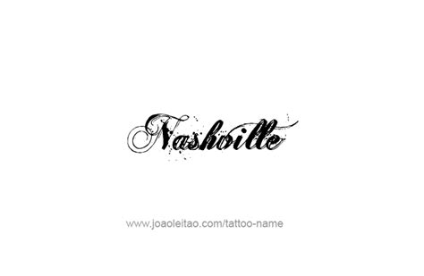 tattoo capital of the us nashville usa capital city name tattoo designs page 4 of