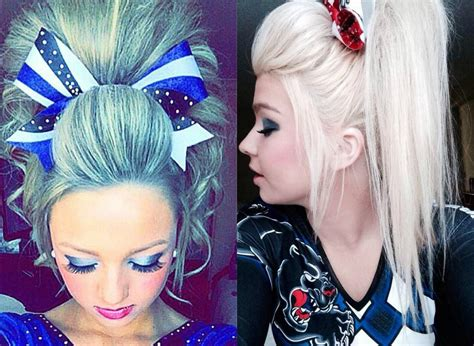 cheerleading hairstyles absolutely cheer hairstyles any will