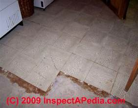questions answers about how to identify floor tiles or sheet flooring as containing asbestos