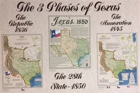 texas 1836 map large republic of texas 1836 map texas statehood 1845 map texas 1850 map texana print