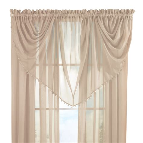 beaded curtains ebay beaded waterfall curtain valance by collections etc ebay