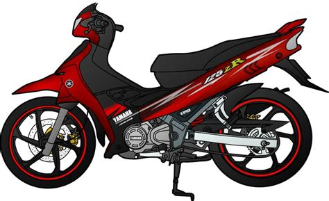 Wallpaper Sticker 125 yamaha 125zr by doktahu on deviantart
