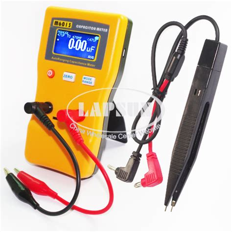 pf capacitor tester v2 auto range digital capacitor capacitance tester meter 0 01pf to 470mf m6013 a ebay