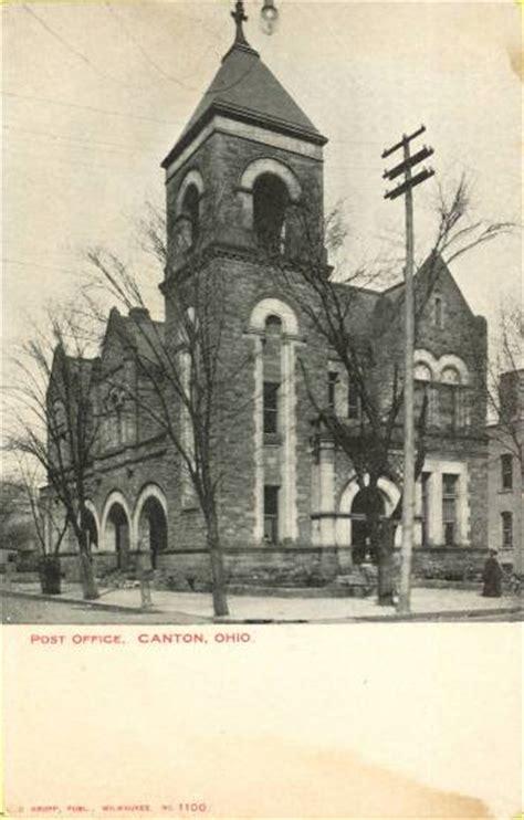 Canton Ohio Post Office by Ohio American Local History Network Alhn Vintage Ohio