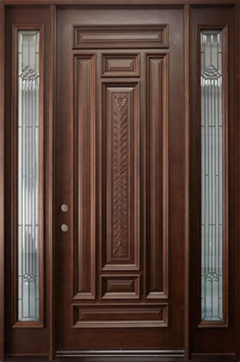 Best Type Of Exterior Door Best Wood Entry Doors Door Styles