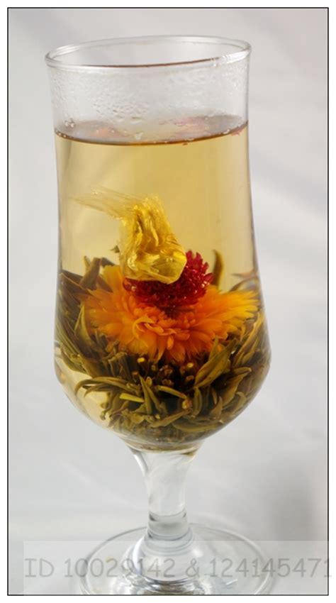 Obat Herbal Feng Shi Bao 16 different blooming tea artistic flowering green