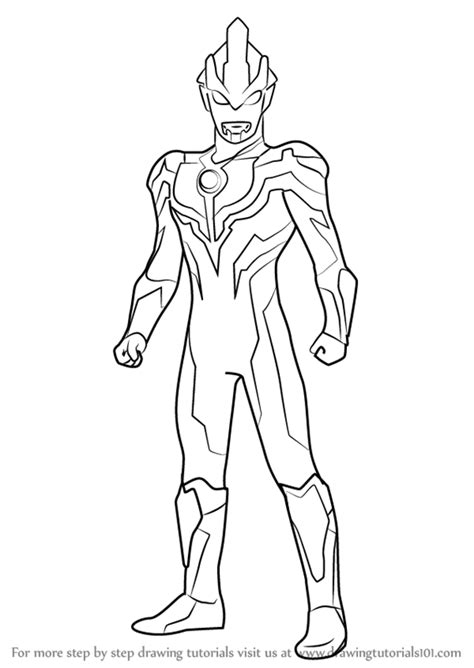 printable coloring pages ultraman ultraman ginga victory sketch coloring page