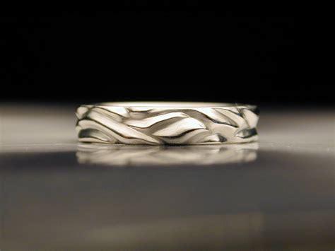 Besondere Hochzeitsringe by Water Wave Wedding Ring