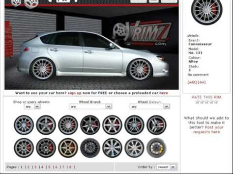 cars modification app change your actual car s wheels without photoshop