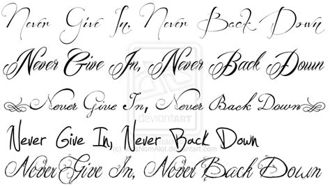 tattoo writing styles for men fonts and new fonts design