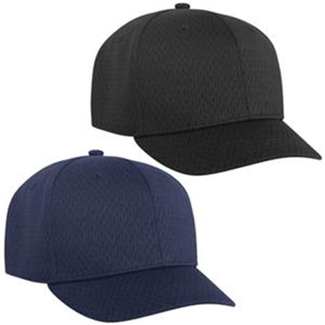 pacific headwear 860u m2 mesh custom baseball umpire caps