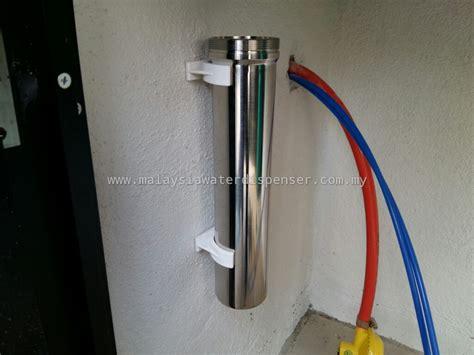 single stainless steel undersink water purifier system 1