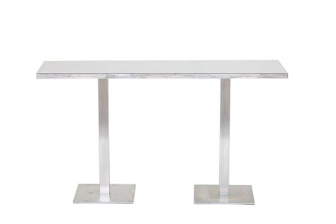 White Bar Table Table Hire Fresh Event Hire
