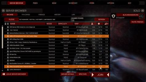 killing floor 2 console commands join server thefloors co