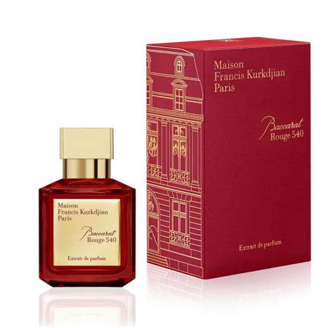 baccarat 540 extrait de parfum maison francis kurkdjian perfume a new fragrance for