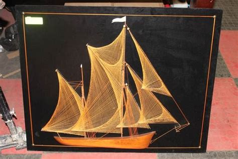 Sailboat String - sailboat string kastner auctions