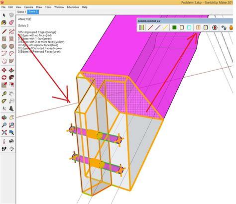 sketchup layout hidden geometry geometry problem sketchup sketchup community