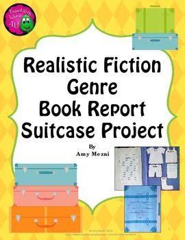realistic fiction book report realistic fiction genre book report suitcase project