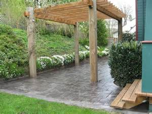 Price To Pour Concrete Patio by Photo Gallery Concrete Patios Portland Or The