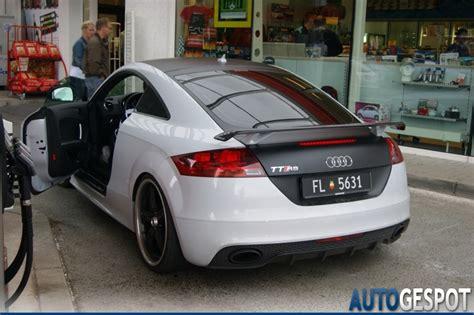 Audi Tt Folieren by Audi Tt Rs 31 Juli 2011 Autogespot