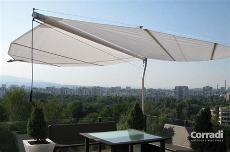 Retractable Outdoor Shade Retractable Shade Sail Contemporary Patio Other