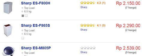 Daftar Mesin Cuci 1 Tabung Front Of Lading daftar harga mesin cuci sharp terbaru 1 tabung service mesin cuci jogja yogyakarta 085 729