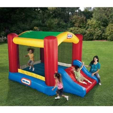 Tikes Bounce House by Water Slides Tikes Shady Jump N Slide