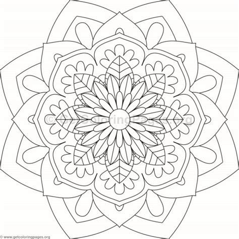 flower mandalas coloring page flower mandala coloring pages 84 getcoloringpages org
