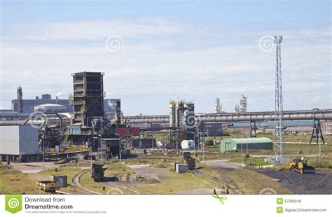 factory sky view view at steel factory with sky stock photo image 57309249