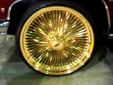 Gold Truck Rims For Sale 1976 Apple Caillac On 24 Quot All Gold Daytons Rims