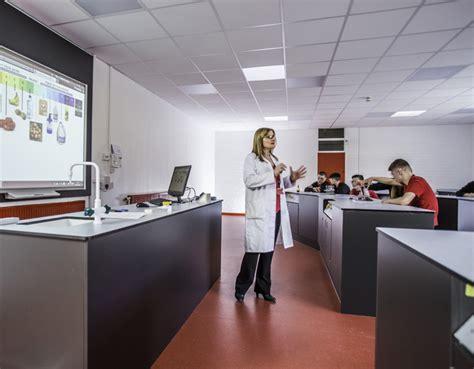 lab design group laboratory refurbishment st martin s school innova