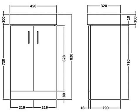 Vanity Height From Floor by Veebath Linx Vanity Unit Compact Cloakroom Cabinet Basin