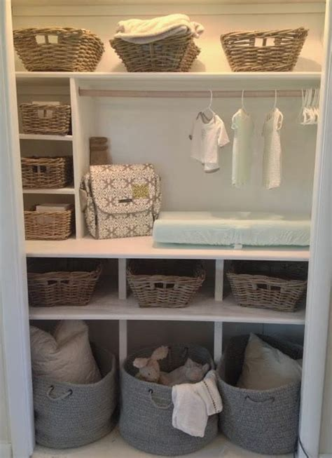 Nursery Wardrobe With Shelves by Best 25 Baby Nursery Organization Ideas On
