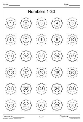 printable number worksheets 1 30 all worksheets 187 number worksheets 1 30 printable