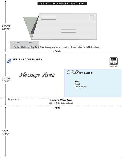 Tools Tips For Direct Marketing In San Diego Mail Management Group 8 5 X 11 Mailer Template