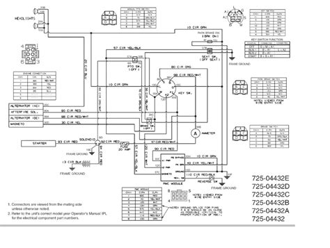 craftsman lt 1000 schematic wiring diagrams wiring