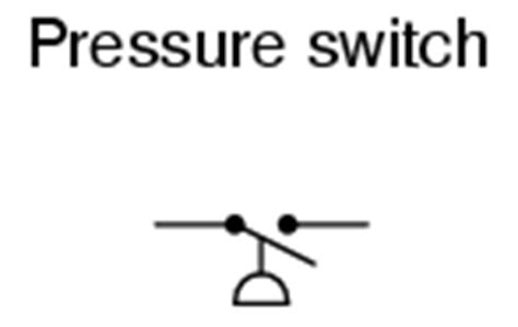 electrical schematic symbols pressure switches electrical