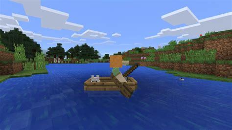 minecraft custom boat minecraft pocket edition introduces skinning feature