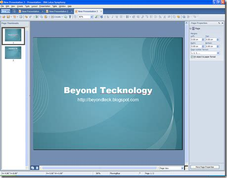 great free powerpoint openoffice symphony templates