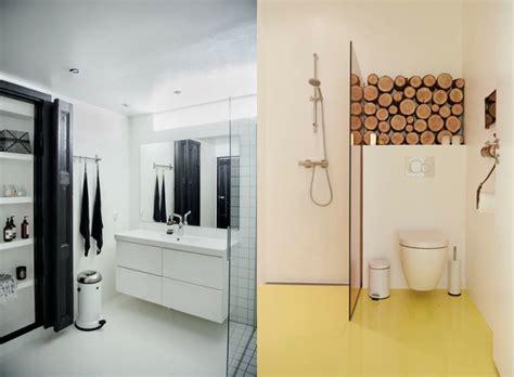 Küche Und Bad Design by Badezimmer Badezimmer Halb Gefliest Modern Badezimmer
