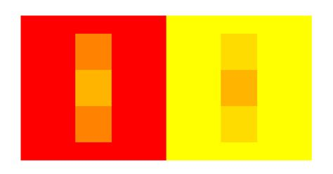 color perception illusion and color perception