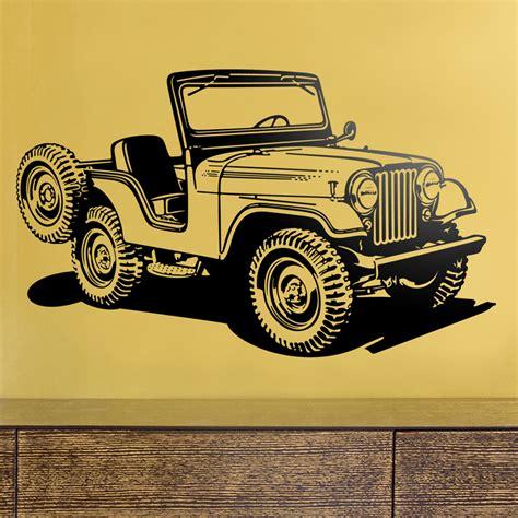 jeep wall wall stickers jeep war ii