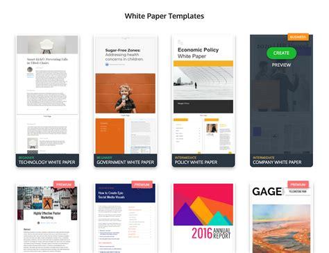 Design Your Own White Paper Venngage White Paper Design Template