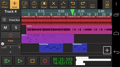 recording studio app for android audio evolution mobile 3 0 for android released by extream