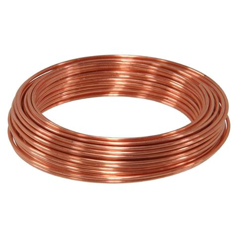 home depot wire 50 ft 20 copper hobby wire 50162 the home depot