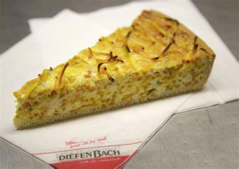 salzige kuchen diefenbach die traditionelle regionale b 228 ckerei und