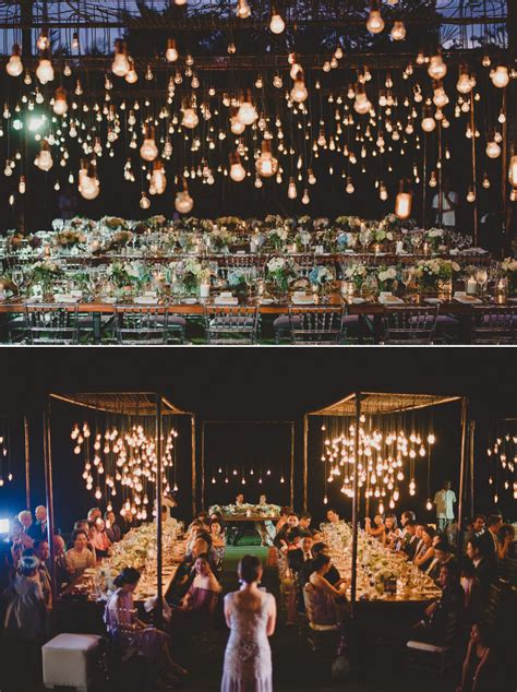 Dekoration Mit Fotos 3993 by Hanging Lightbulbs At Semara Uluwatu Villa Bali Wedding